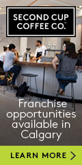 Ad: Second Cup Coffee Co. – Calgary franchising opportunities