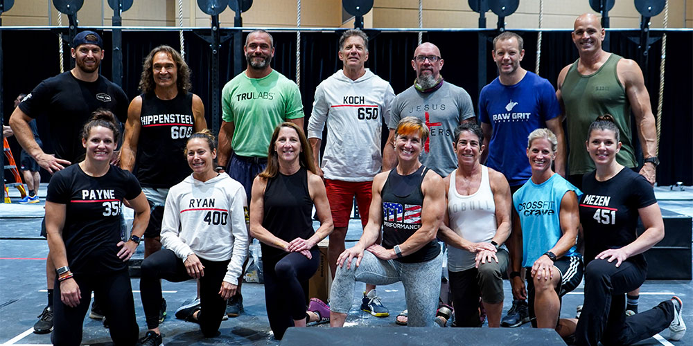 Masters Fitness Collective Championship Crowns 14 Division Champions
