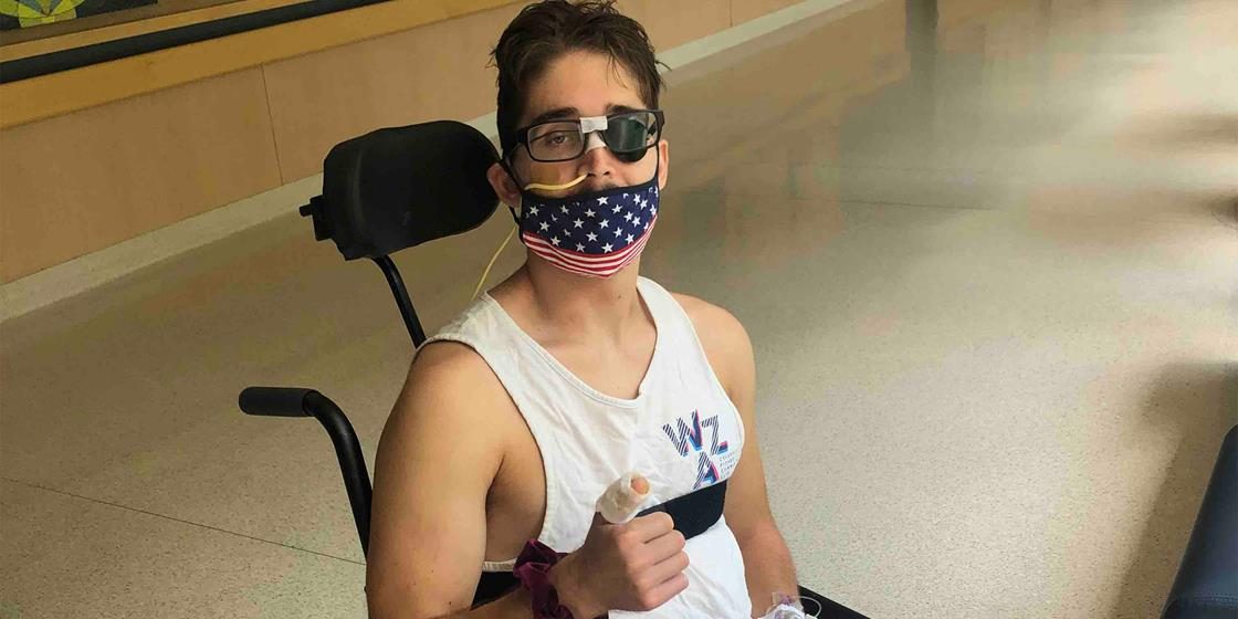 Dylan Kade Continues His Road to Recovery