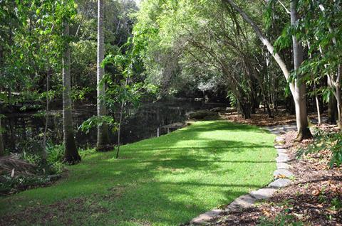 Shot of Botanic Gardens surrounds