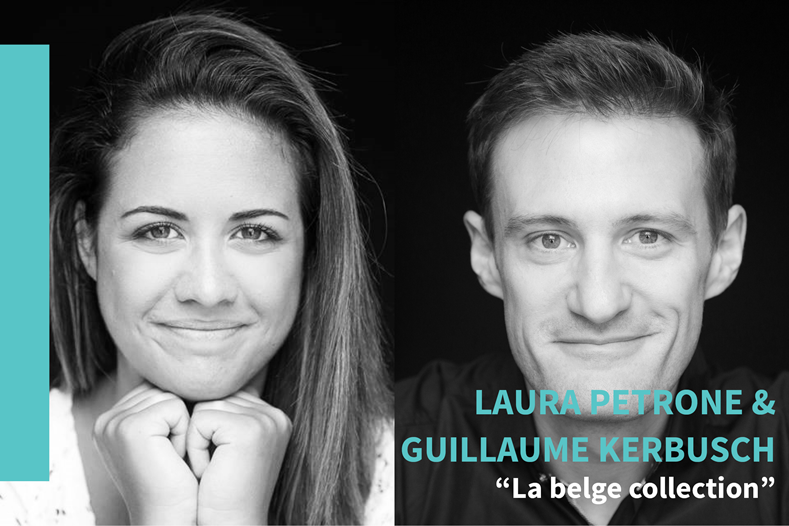 Laura Petrone enGuillaume Kerbusch, Brussels Cine Studio
