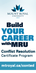 Ad: MRU – Conflict Resolution Certificate Program