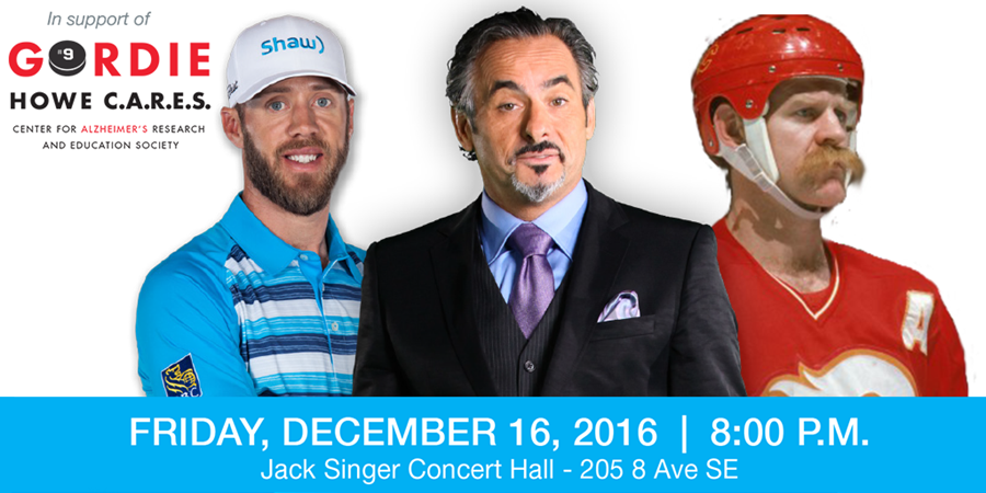 An intimate evening with David Feherty, Graham DeLaet, and Lanny McDonald