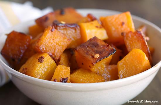 Maple Glazed Butternut Squash