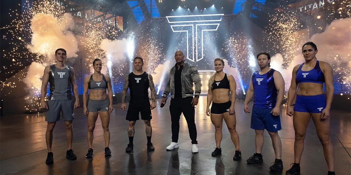 CrossFitters Battle for the Title on Season Finale of The Titan Games