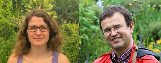 Judith Conroy and Ulrich Schmutz