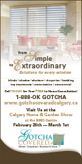 Ad: Gotcha Covered at the Home and Garden Show