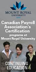 Mount Royal University - Cont.  Ed. - Project Management