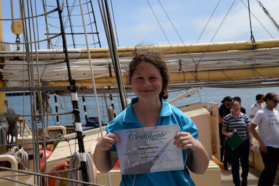 Chloe's high seas adventure