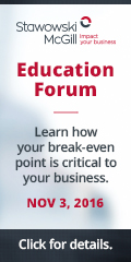 Ad: Stawowski McGill – Education forum