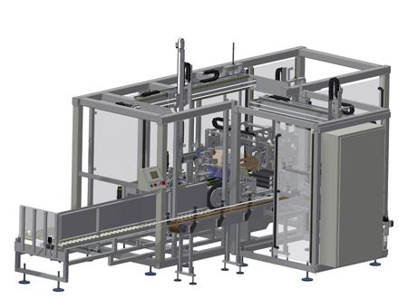 CP-GRT- Gantry Robot Collating Case Packer