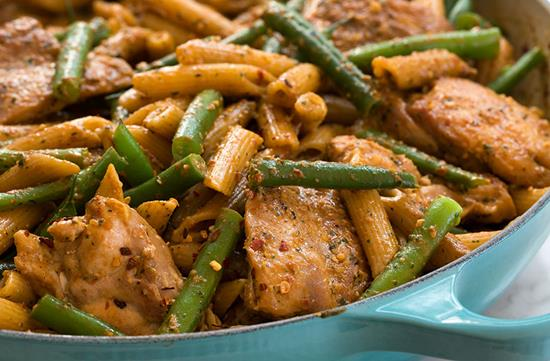 Chicken with sun-dried tomato pesto