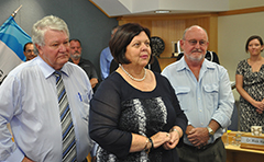 Federal Member Ken O'Dowd and Gladstone Region Mayor Gail Sellers announce funding