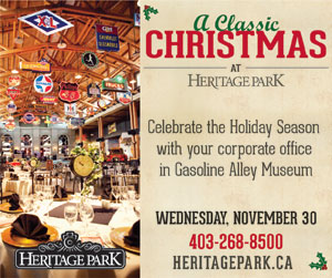 Ad: Heritage Park - A Classic Christmas