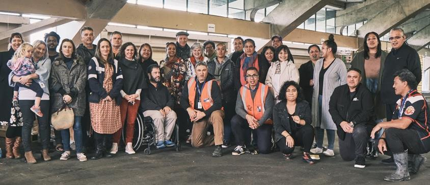 Members of the Hawkes Bay Civil Defence and Emergency Management Network of Networks