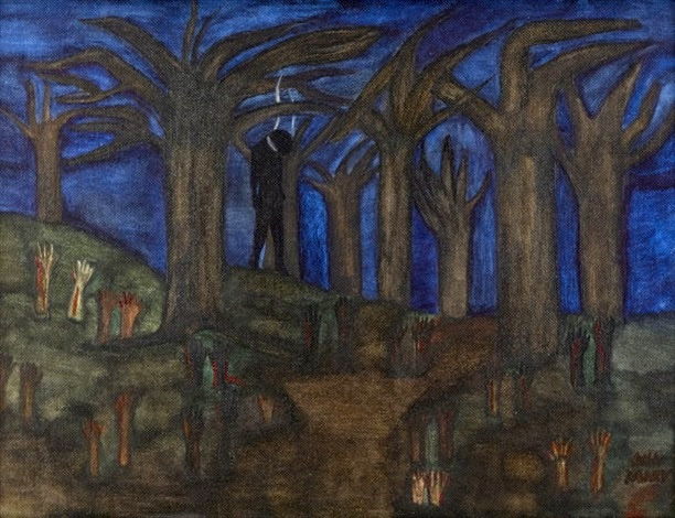 My Ancestors' Blood Cry from the Earth. Justice, Mary Frances Whitfield