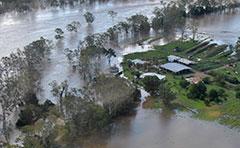 Boyne Valley during 2013 floods