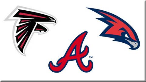 Atlanta Falcons, Braves, Hawks