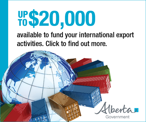 Ad: Alberta Government - Export Support Fund