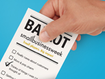 Recognize excellence by voting in the 2013 Small Business Week Awards