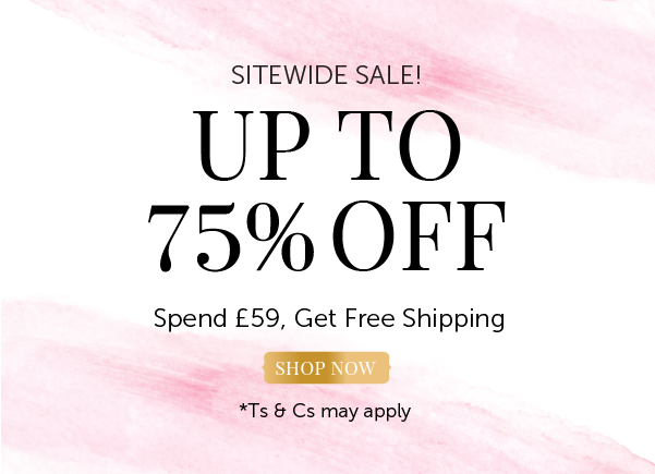 Wedding Clearance - 75% off everything