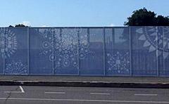 New artwork on Goondoon Street bridge