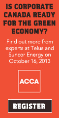 Is corporate Canada ready for the green economy?