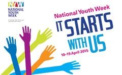National Youth Week 2015 logo