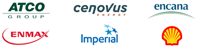 ATCO Group, Cenvous Energy, Encana, ENMAX, Imperial and Shell Canada