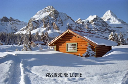 Assiniboine Lodge in winter