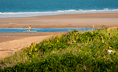 A photo of a beach at Tannum Sands