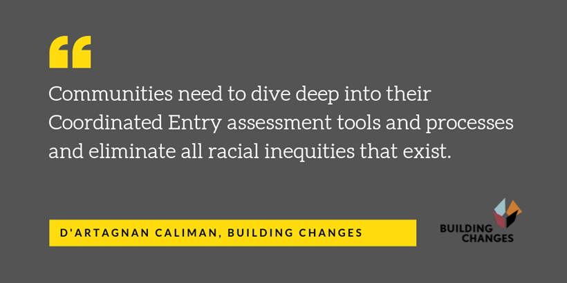 Quote from Building Changes executive director