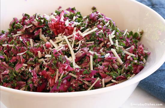 Kale and Cabbage Confetti Salad