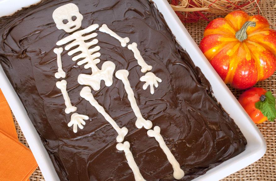 Cake skeleton template