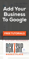 Ad: RCKTSHP - How to get your business on Google search
