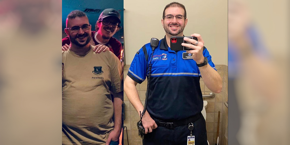 "The ""80-Percent"" Approach Helps Jake Masterson Lose 100 Pounds During the Pandemic"