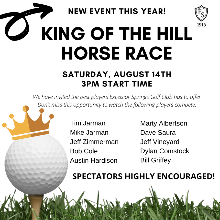King of the Hill Horse Race