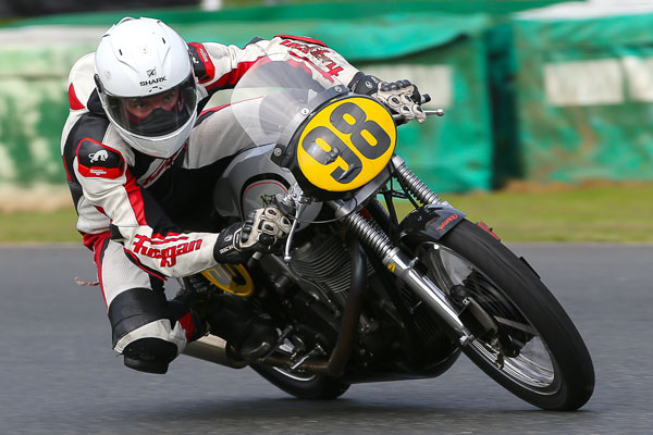 Peter Carr on board the Manx at Mallory