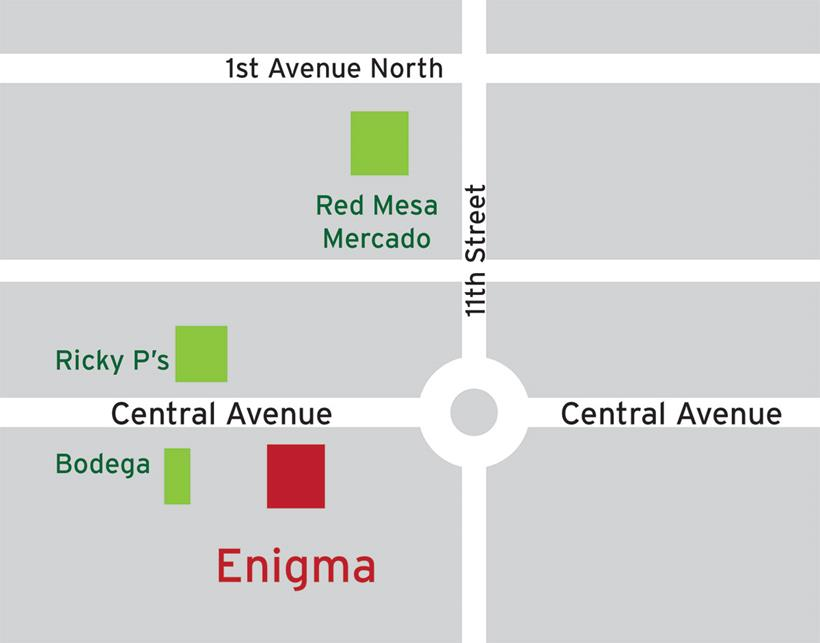 Location of Enigma
