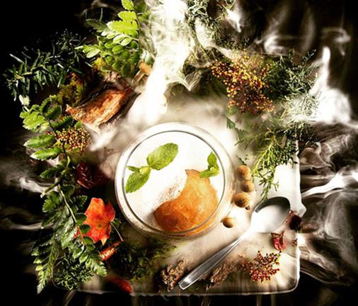 Molecular gastronomy meets performance art for one night only