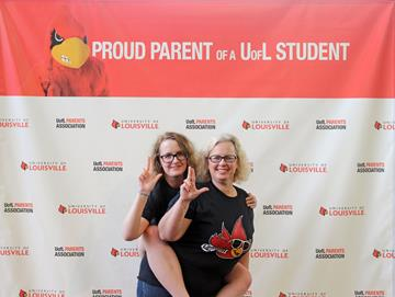 image of mother and daughter during orientation #1