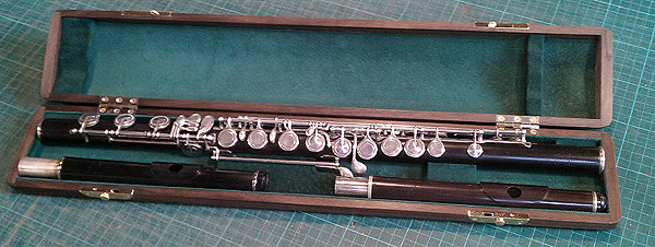 a very special Rudall Carte flute