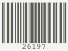 Barcode #26197