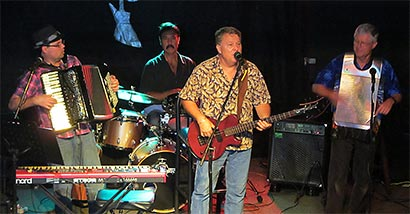Gumbo Boogie play at Ace's Lounge in Bradenton on Sunday, Sept. 16