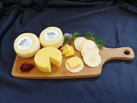Cheese varieties from Little Creek Cheese