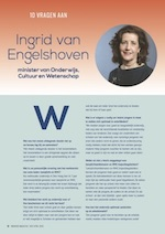 Pagina uit Ingrado Magazine van april 2018