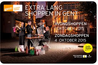 Shoppingweekend Gent 1 tot 4 oktober