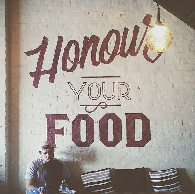 *Image re-post from @dinewhitme on instagram at Solomon's Cafe.
