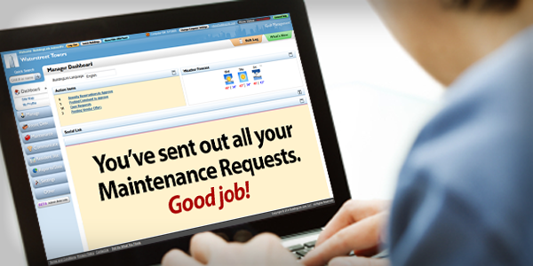 Get Those Maintenance Requests off Your Plate . . . and into the Hands of Your Vendors!