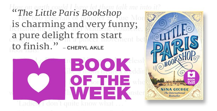 Book of the week: The Little Paris Bookshop
